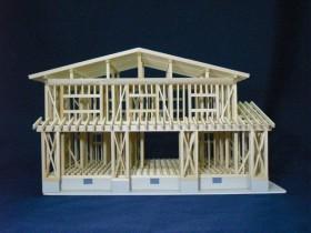 軸組模型(木造)